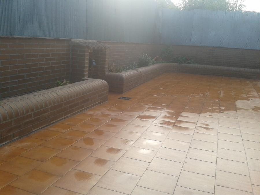 Solado de patio exterior - Resultado final 2